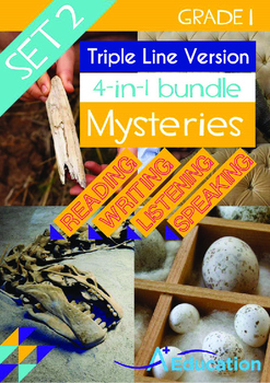 4-IN-1 BUNDLE- Mysteries (Set 2) - Grade 1 (with 'Triple-T