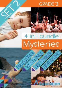 4-IN-1 BUNDLE- Mysteries (Set 2) – Grade 2