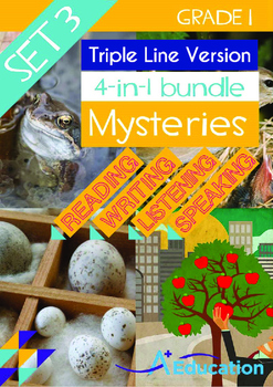 4-IN-1 BUNDLE- Mysteries (Set 3) - Grade 1 (with 'Triple-T