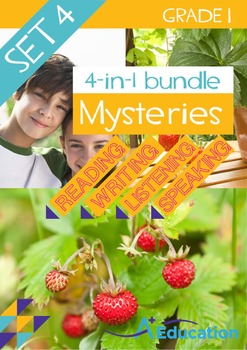4-IN-1 BUNDLE- Mysteries (Set 4) – Grade 1