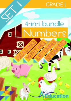4-IN-1 BUNDLE- Numbers (Set 1) – Grade 1