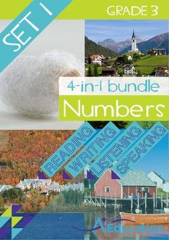 4-IN-1 BUNDLE- Numbers (Set 1) – Grade 3