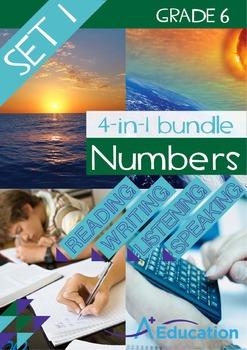 4-IN-1 BUNDLE- Numbers (Set 1) – Grade 6