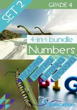 4-IN-1 BUNDLE- Numbers (Set 2) – Grade 4