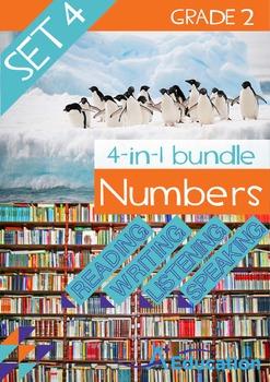 4-IN-1 BUNDLE- Numbers (Set 4) – Grade 2