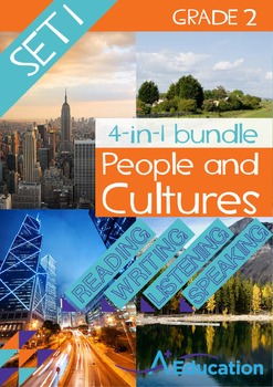 4-IN-1 BUNDLE - People and Cultures (Set 1) - Grade 2