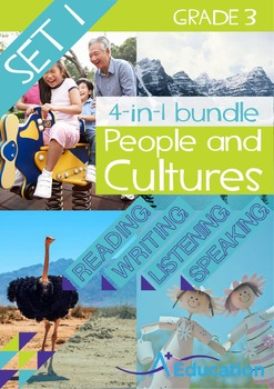 4-IN-1 BUNDLE - People and Cultures (Set 1) - Grade 3