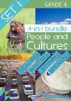 4-IN-1 BUNDLE - People and Cultures (Set 1) - Grade 4