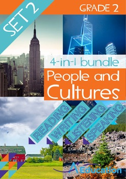 4-IN-1 BUNDLE - People and Cultures (Set 2) - Grade 2