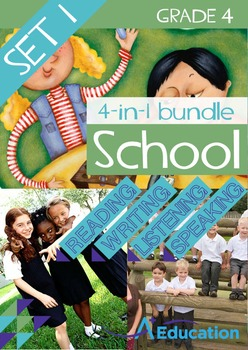 4-IN-1 BUNDLE- School (Set 1) – Grade 4