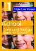 4-IN-1 BUNDLE - School (Set 4) Grade 1 ('Triple-Track Writ