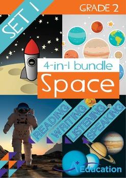 4-IN-1 BUNDLE - Space (Set 1) - Grade 2