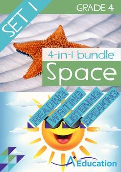 4-IN-1 BUNDLE - Space (Set 1) - Grade 4