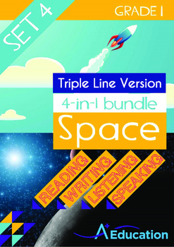 4-IN-1 BUNDLE- Space (Set 4) - Grade 1 (with 'Triple-Track