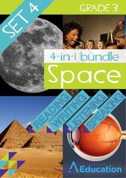 4-IN-1 BUNDLE - Space (Set 4) - Grade 3