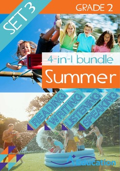 4-IN-1 BUNDLE- Summer (Set 3) – Grade 2