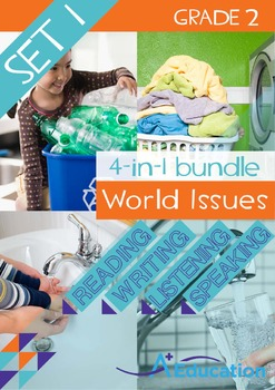 4-IN-1 BUNDLE - World Issues (Set 1) - Grade 2
