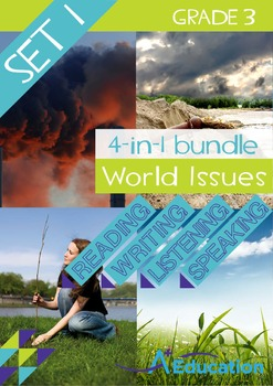4-IN-1 BUNDLE - World Issues (Set 1) - Grade 3
