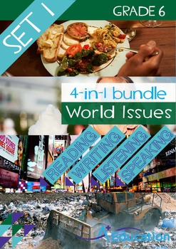 4-IN-1 BUNDLE - World Issues (Set 1) - Grade 6