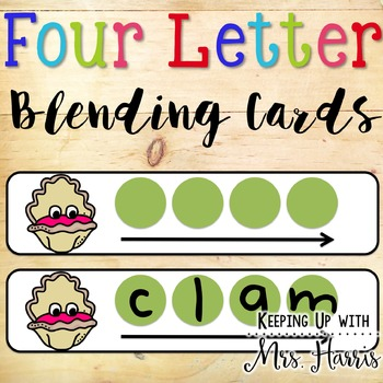Blending Cards Words with Blends