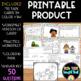 4.MD.4 Line Plots Task Cards, Coloring Page & Worksheet
