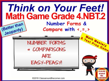 4.NBT.2 THINK ON YOUR FEET MATH! Interactive Test Prep Gam