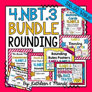 4.NBT.3 BUNDLE: Rounding