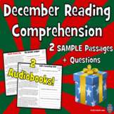 December Reading Comprehension Passages SAMPLE- Close Read