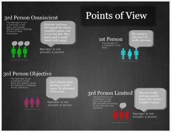 4 Points of View Infographic