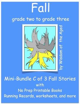Autumn - Activities and 4 printable stories - Mini-Bundle