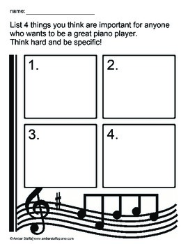4 Qualities of Great Pianists