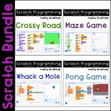 Scratch - 4 Lesson Plans Bundle