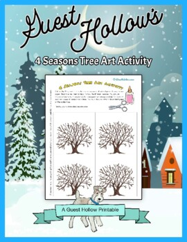 4 Seasons Tree Art Activity