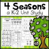 4 Seasons Unit Study for K-2 Learners