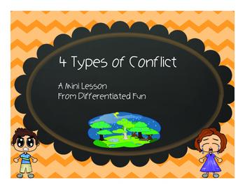 4 Types of Conflict Mini Lesson