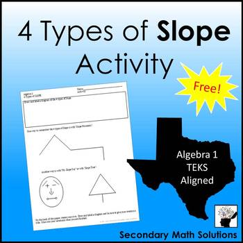 4 Types of Slope Activity