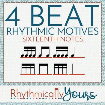 4-beat Rhythm Motives - Tika Tika (16th notes)