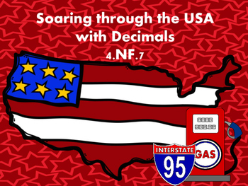 4.nf.7 Soaring around the USA with decimals