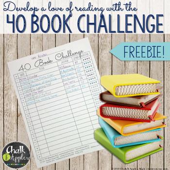 40 Book Challenge FREEBIE!
