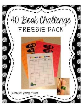 40 Book Challenge FREEBIE PACK
