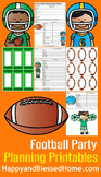 40 Point Football Party Planning Checklist