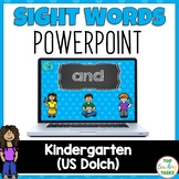 PreK Sight Word (Dolch) Powerpoint Presentation - 40 Words