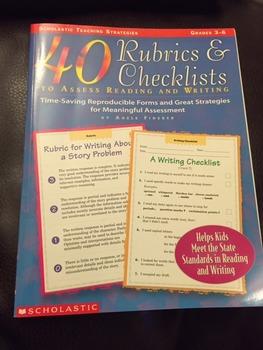 40 Rubrics & Checklists to Assess Reading and Writing (Gra