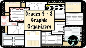 40 Useful graphic organizers for across the curriculum