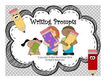 40 Writing and Journal Prompts task cards (Narrative & Cre