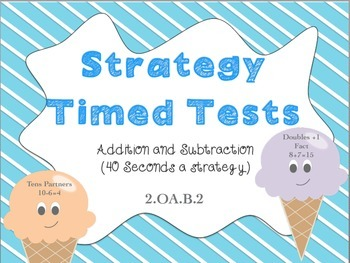 Math Strategy Timed Tests