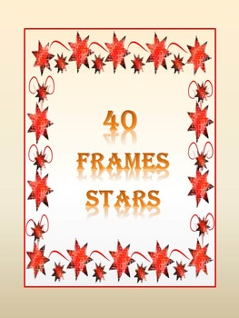 Stars - Frames - Clip Art - Personal or Commercial Use