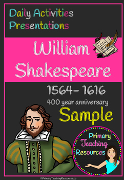 400 Years of Shakespeare Activity Pack