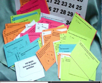 408 MATH & LITERACY PRINTABLE  LEARNING CENTER ACTIVITES T
