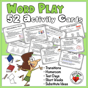 Vocabulary - Fun With Words